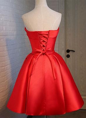 Forme princesse robe de cérémonie robe courte haute qualité couleurs au choix_2