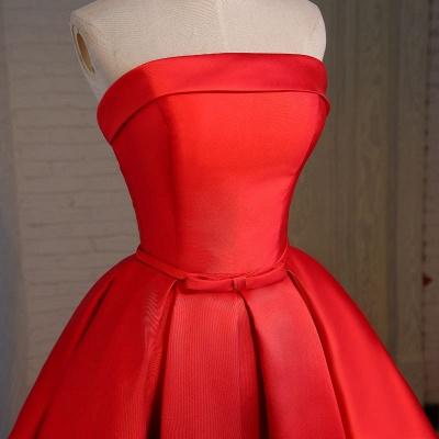 Forme princesse robe de cérémonie robe courte haute qualité couleurs au choix_4