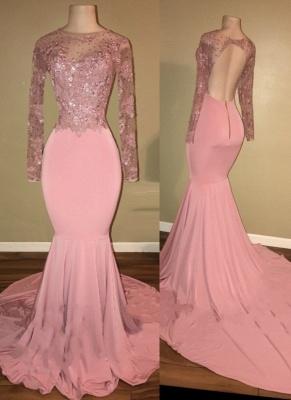 robe de cocktail rose pâle | robe de soirée cérémonie_1