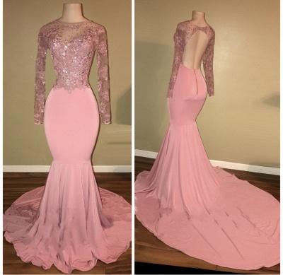 robe de cocktail rose pâle | robe de soirée cérémonie_4