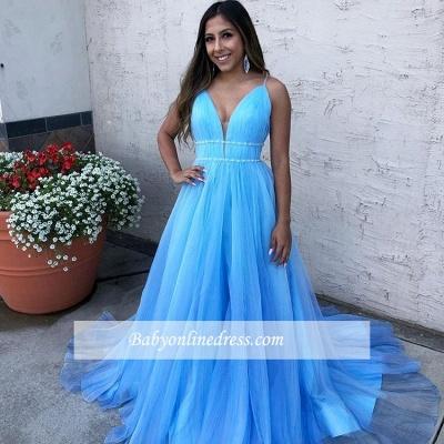 Robe de bal princesse tulle moderne | Robe de soirée princesse col en V_1