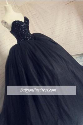 Robe de bal princesse tulle sublime | Robe de soirée princesse avec perles_1