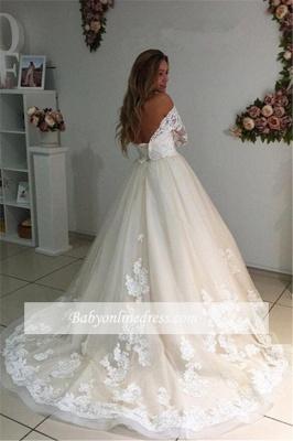 Forme Princesse Longueur ras du sol Col en cœur Dentelle robe de mariée_2