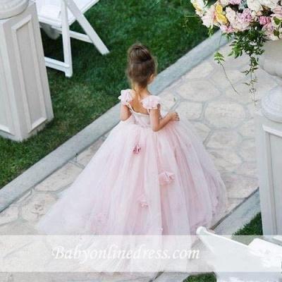 Forme Princesse Longueur ras du sol Tulle robe pour fille_3