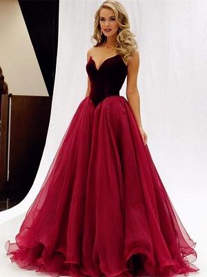 Forme princesse robe de cérémonie robe de fête haute qualité couleurs au choix_2